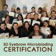 Microblading Course Certificate