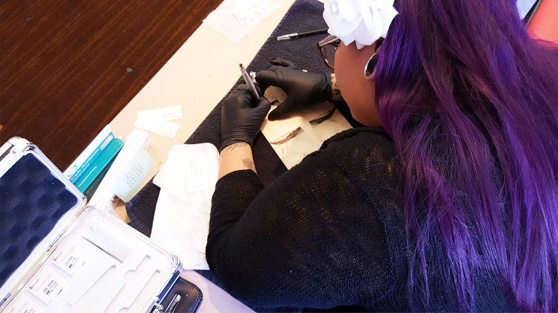 3D Eyebrow Microblading Training Course California